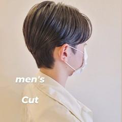 ショートヘア メンズヘア メンズショート ハンサムショート ヘアスタイルや髪型の写真・画像
