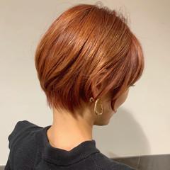 ショート ハンサムショート ショートヘア アンニュイほつれヘア ヘアスタイルや髪型の写真・画像