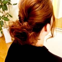 簡単ヘアアレンジ パーティ ヘアアレンジ 編み込み ヘアスタイルや髪型の写真・画像