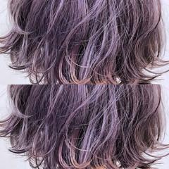 外国人風カラー ハイトーン ボブ 透明感 ヘアスタイルや髪型の写真・画像