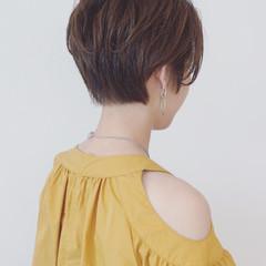 パーマ 簡単 ショート デート ヘアスタイルや髪型の写真・画像