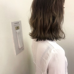 女子力 ナチュラル 透明感 ボブ ヘアスタイルや髪型の写真・画像