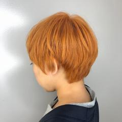 ショートヘア 大人ショート ショートボブ ベージュ ヘアスタイルや髪型の写真・画像