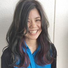 モード 外国人風 外国人風カラー ハイライト ヘアスタイルや髪型の写真・画像