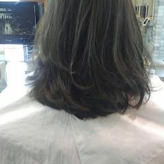 秋 リラックス セミロング ナチュラル ヘアスタイルや髪型の写真・画像