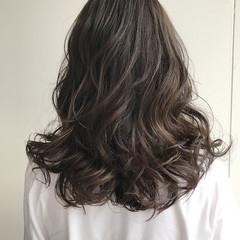 アッシュ 透明感 外国人風カラー 秋 ヘアスタイルや髪型の写真・画像