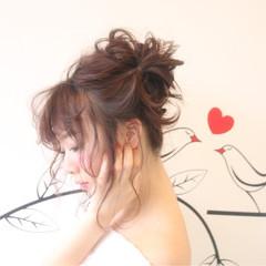 セミロング デート ガーリー リラックス ヘアスタイルや髪型の写真・画像