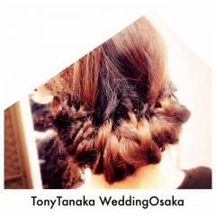 結婚式 ヘアアレンジ クラシカル アップスタイル ヘアスタイルや髪型の写真・画像