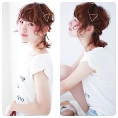ストリート ショート 簡単ヘアアレンジ モテ髪 ヘアスタイルや髪型の写真・画像