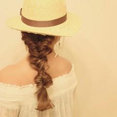 ヘアアレンジ 外国人風 ロング グラデーションカラー ヘアスタイルや髪型の写真・画像