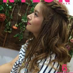 愛され 夏 モテ髪 ヘアアレンジ ヘアスタイルや髪型の写真・画像