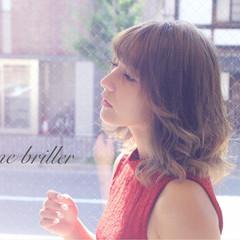 ハイトーン 秋 ガーリー デート ヘアスタイルや髪型の写真・画像