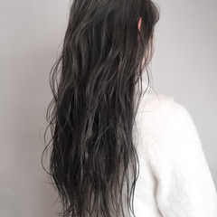 謝恩会 ナチュラル ロング デート ヘアスタイルや髪型の写真・画像