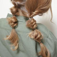 ナチュラル ショート ヘアアレンジ ロング ヘアスタイルや髪型の写真・画像