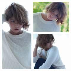 グラデーションカラー 外国人風 大人かわいい ガーリー ヘアスタイルや髪型の写真・画像