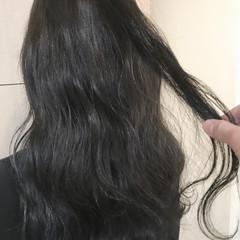 ナチュラル セミロング 外国人風カラー 秋 ヘアスタイルや髪型の写真・画像