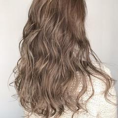 透明感 ロング 外国人風カラー ウェットヘア ヘアスタイルや髪型の写真・画像