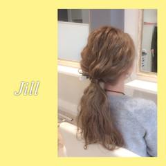 ショート ロング ヘアアレンジ ポニーテール ヘアスタイルや髪型の写真・画像