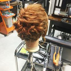 ボブ ゆるふわ ヘアアレンジ フェミニン ヘアスタイルや髪型の写真・画像