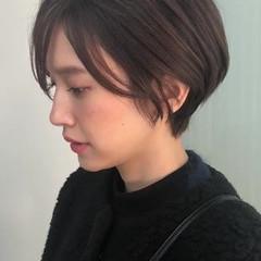 ショート ショートボブ 外国人風カラー ハイライト ヘアスタイルや髪型の写真・画像
