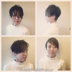 ショート モード ウェットヘア マルサラ ヘアスタイルや髪型の写真・画像
