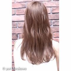 秋 マルサラ ロング 外国人風 ヘアスタイルや髪型の写真・画像