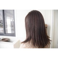 グレージュ マット オリーブアッシュ ベージュ ヘアスタイルや髪型の写真・画像