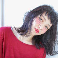 ニュアンス グラデーションカラー 大人女子 小顔 ヘアスタイルや髪型の写真・画像