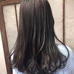ストリート ブルージュ グレージュ 外国人風カラー ヘアスタイルや髪型の写真・画像