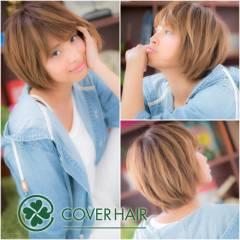 黒髪 アッシュ ショート ストリート ヘアスタイルや髪型の写真・画像