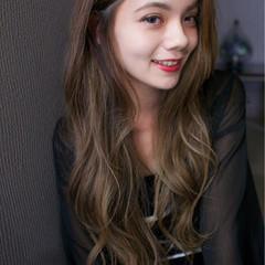 グラデーションカラー 暗髪 ナチュラル ピュア ヘアスタイルや髪型の写真・画像