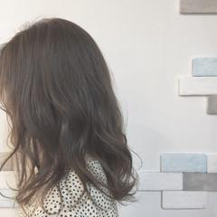 ハイライト 外国人風カラー ミディアム こなれ感 ヘアスタイルや髪型の写真・画像