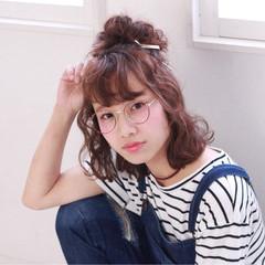 ヘアアレンジ ピュア 外国人風 夏 ヘアスタイルや髪型の写真・画像