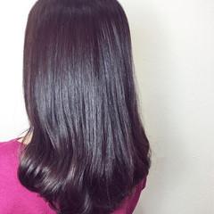 デジタルパーマ セミロング 春 巻き髪 ヘアスタイルや髪型の写真・画像