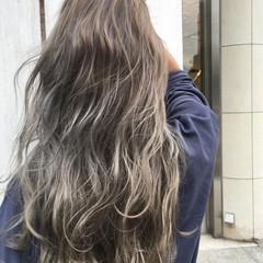 秋 外国人風 透明感 ロング ヘアスタイルや髪型の写真・画像