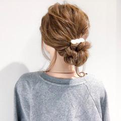 ロング ヘアアレンジ 大人女子 デート ヘアスタイルや髪型の写真・画像