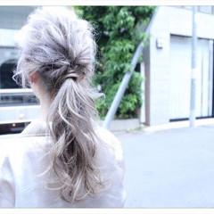 ロング 編み込み ナチュラル 外国人風 ヘアスタイルや髪型の写真・画像