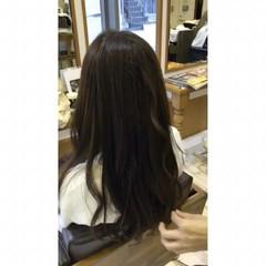 アッシュ ナチュラル ゆるふわ 簡単ヘアアレンジ ヘアスタイルや髪型の写真・画像