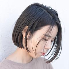 透明感 オフィス 暗髪 デート ヘアスタイルや髪型の写真・画像