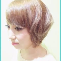 ショート ナチュラル モテ髪 ストリート ヘアスタイルや髪型の写真・画像