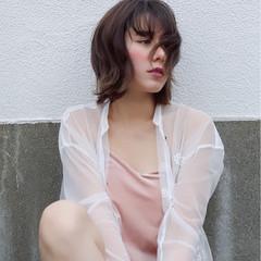 外国人風 フェミニン こなれ感 ボブ ヘアスタイルや髪型の写真・画像