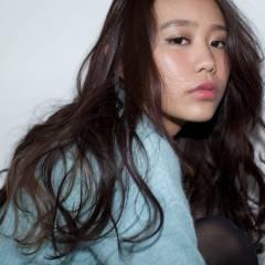 ゆるふわ 外国人風 アップスタイル ストリート ヘアスタイルや髪型の写真・画像