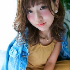 ミディアム アッシュ 秋 外国人風 ヘアスタイルや髪型の写真・画像