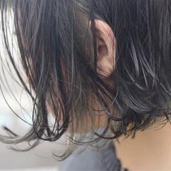 ストリート ボブ ブリーチ インナーカラー ヘアスタイルや髪型の写真・画像