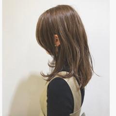 ウェットヘア 外国人風 外国人風カラー グラデーションカラー ヘアスタイルや髪型の写真・画像