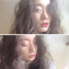 ナチュラル かわいい グレージュ 外国人風 ヘアスタイルや髪型の写真・画像