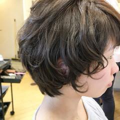 簡単ヘアアレンジ 小顔 ショート ヘアアレンジ ヘアスタイルや髪型の写真・画像