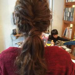 ショート 編み込み ヘアアレンジ ストリート ヘアスタイルや髪型の写真・画像