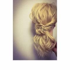 ローポニーテール ヘアアレンジ 甘め ポニーテール ヘアスタイルや髪型の写真・画像