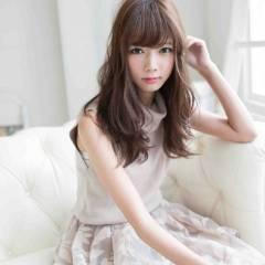 フェミニン 秋 セミロング モテ髪 ヘアスタイルや髪型の写真・画像